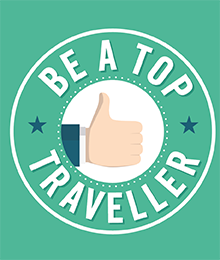 BE A TOP TRAVELLER