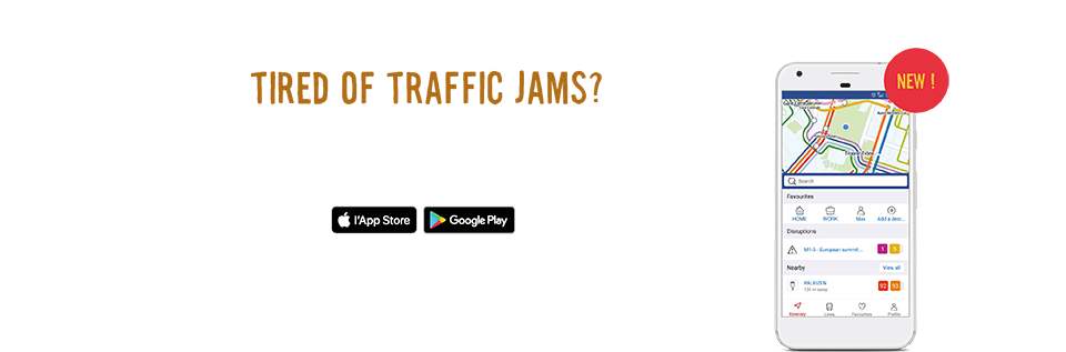 Discover the New STIB-MIVB App