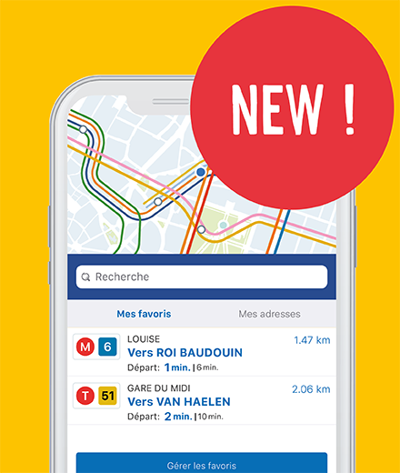 The new and improved STIB-MIVB app!
