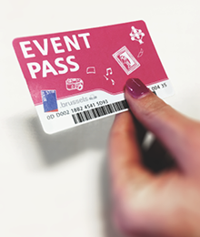 Your concert begins with the Event Pass