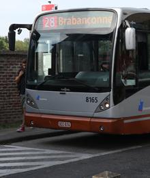 Bus 28, 36 – Asfalteringswerken aan het eindpunt Konkel.