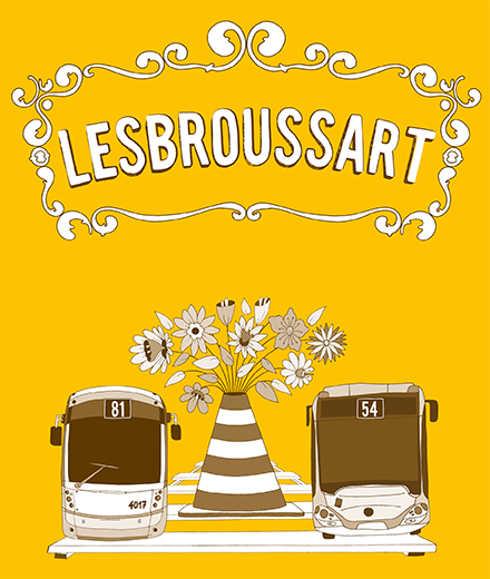 Tram 81, bus 54 – rénovation de la rue Lesbroussart