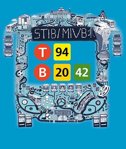 Tram 94, bus 20 en 42 – nieuwigheden