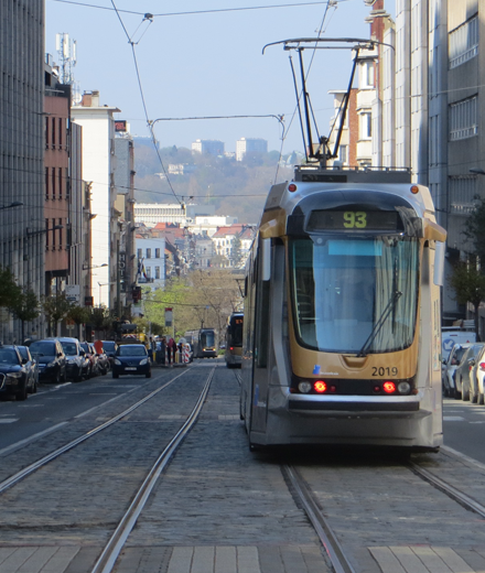 Tram 93 – interruption between Lefrancq and Sainte-Marie / Sint-Maria