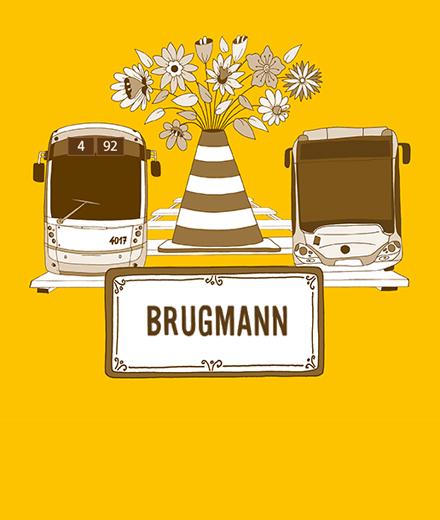 Tram 4, 92 - werken Brugmannlaan