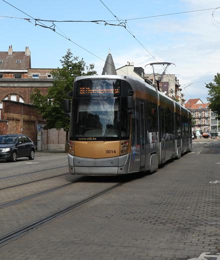 Tram 81, bus 34, 36 – werken aan De Jacht