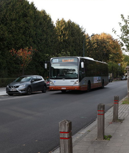 Bus 36 – diversion from Bouleaux / Berken to Crainhem / Kraainem