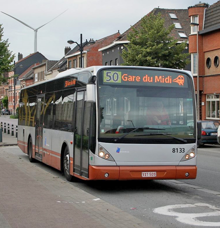 Bus 50 - Travaux à Ruisbroek