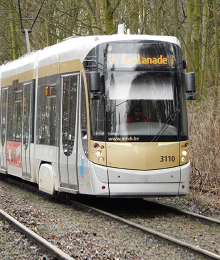 Tram 3, 7, 19 - werken aan De Wand