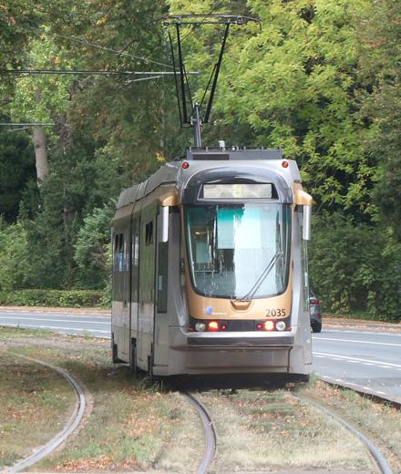Tram 8 – onderbreking Bosvoorde Station ↔ Wiener