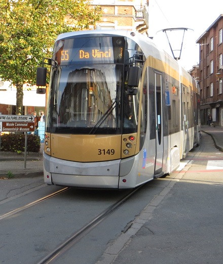 Tram 32-55 – interruption Verboekhoven ↔ Da Vinci