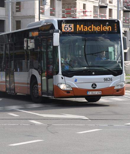 Bus 65 – nieuwe reisweg tussen Hoedemaekers en Bordet Station