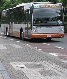 Bus 27 - Limitation à la Porte de Hal