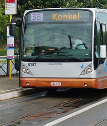 Bus 28, 36 – Travaux Place Dumon