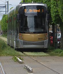 Tram 19 – travaux de la société Vivaqua rue Léon Theodor