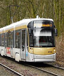 Tram 3, 7 Bus 47 – Werken aan Van Praet