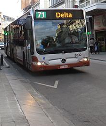 Bus 54, 71, N09, N10 - Rénovation de la chaussée d'Ixelles