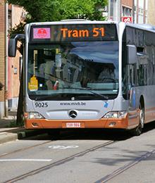 Tram 51 – braderie chaussée d'Alsemberg