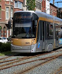 Tram 19 – Travaux à la station Simonis