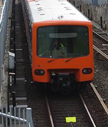 Metro 6 - Onderbreking tussen de stations Simonis en Koning Boudewijn.