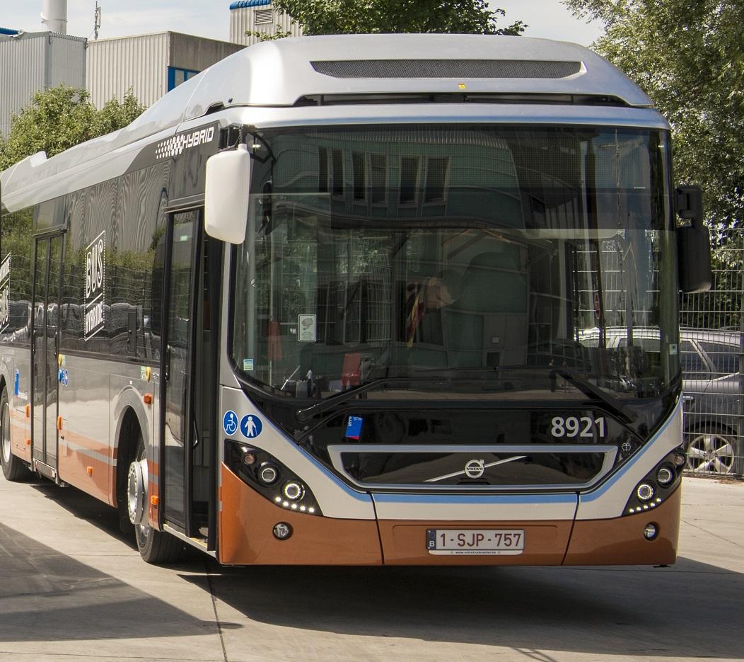 bus hybride stib volvo