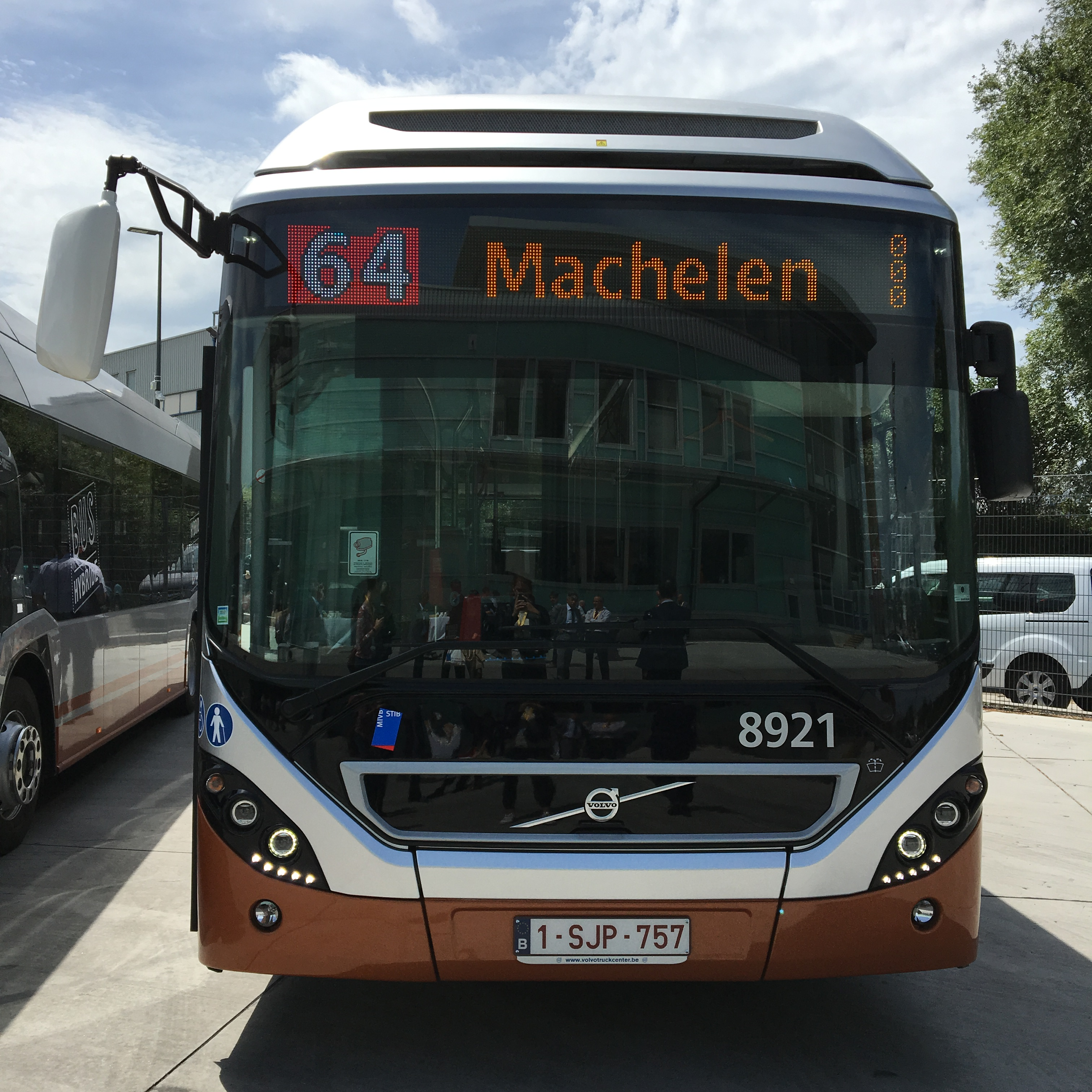 bus hybride volvo