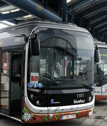 Premier bus standard full électrique
