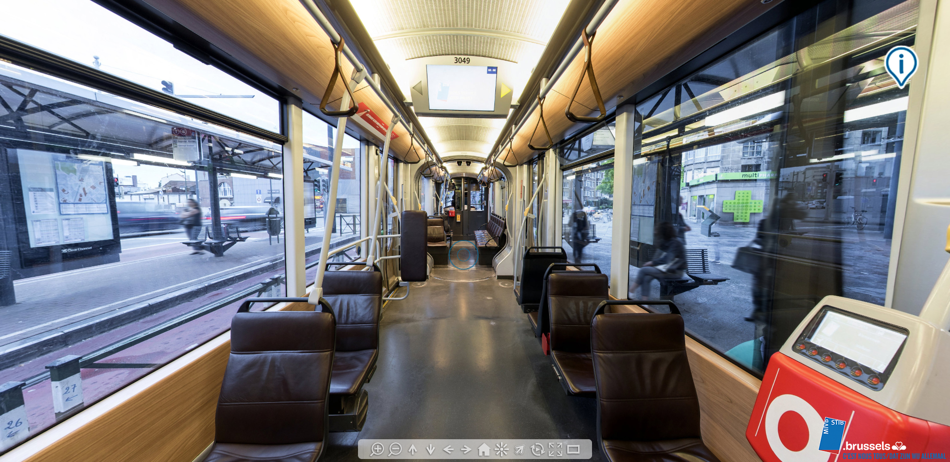 Visite virtuelle tram