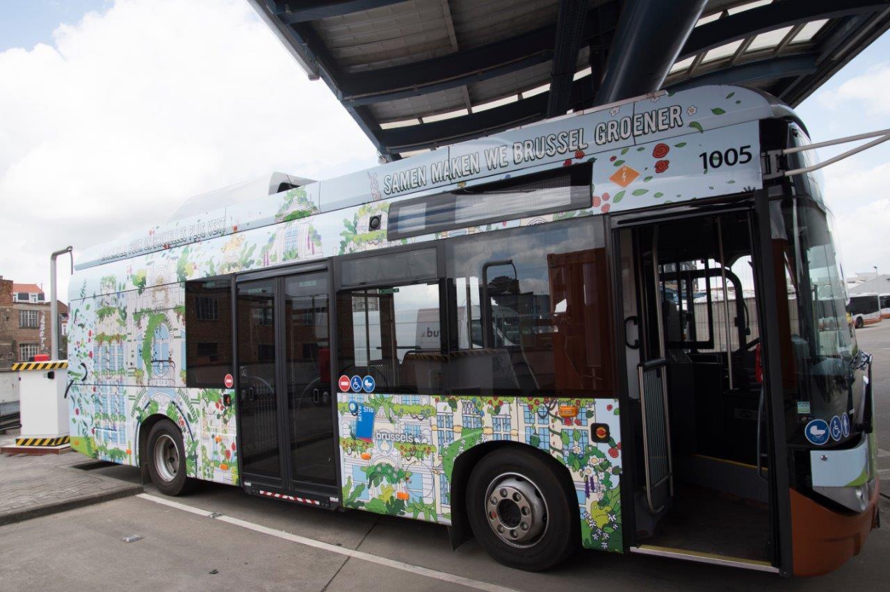 Le premier Citybus électrique de la STIB est arrivé